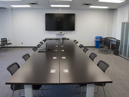 123 Edward Street – Large Room, Meeting Configuration