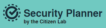 Security Planner by Citizen Lab